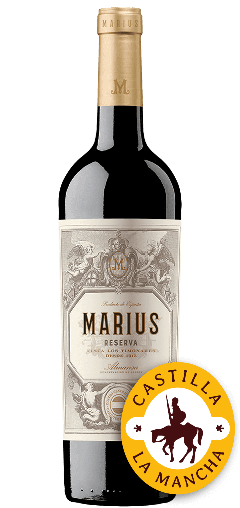 Marius Reserva Flasche
