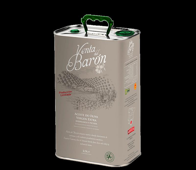 Venta del Barón Natives Olivenöl Extra 2,5l Verpackung