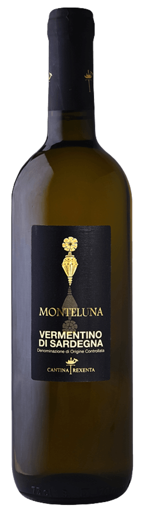 Monteluna Vermentino die Sardegna Bianco Flasche