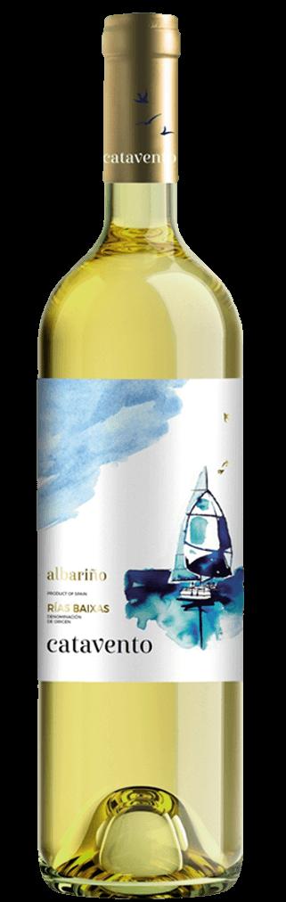 Catavento blanco 100 % Albariño 0,75l Flasche