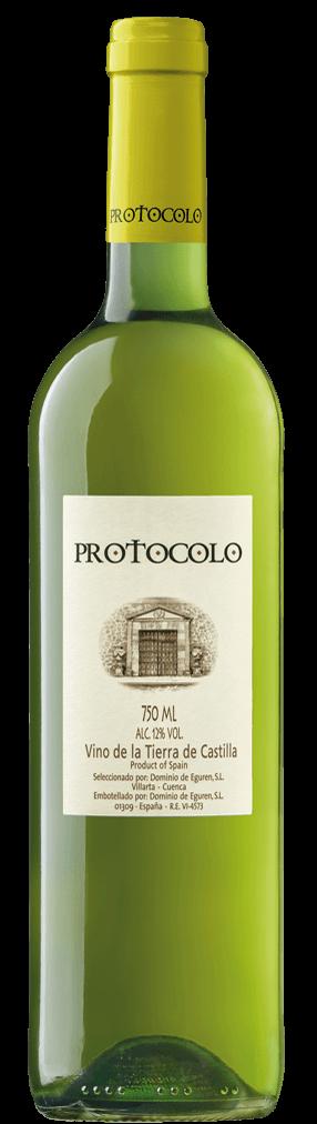 Protocolo Blanco Flasche
