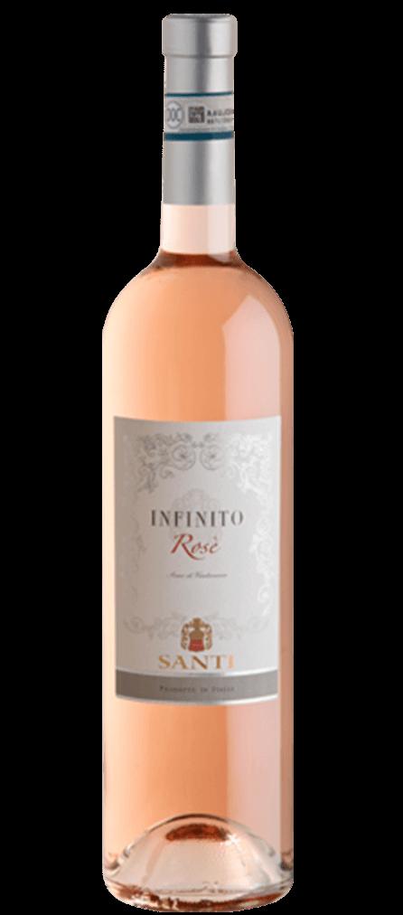 Santi Infinito Bardolino Rosato Flasche