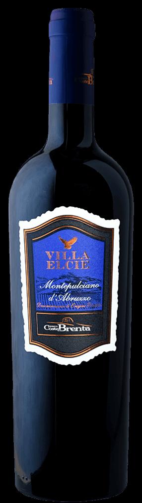 Coste die Brenta Villa Elcie Rosso Flasche