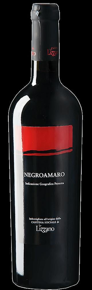 Cantine Lizzano Negroamaro Flasche