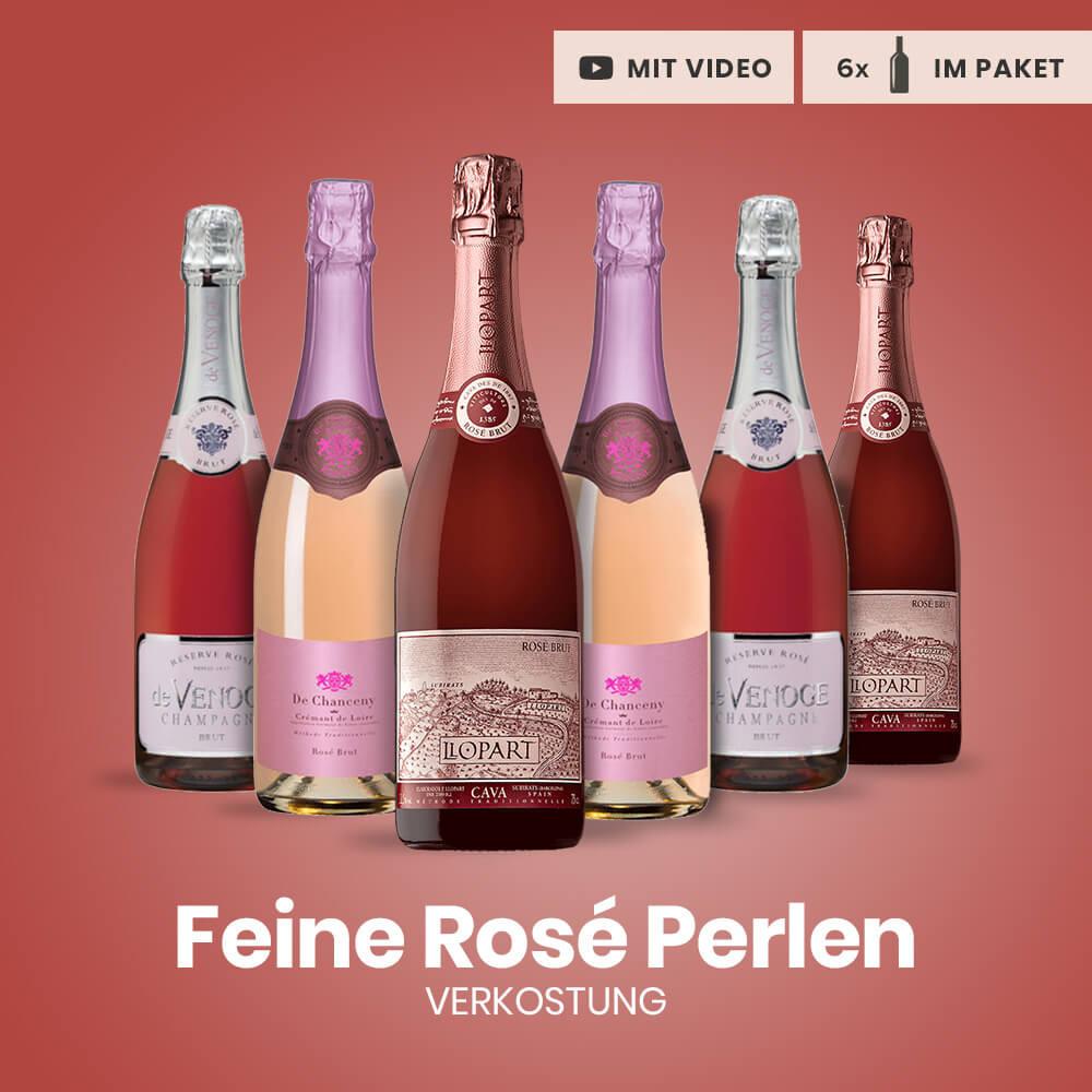 Verkostungspaket Feine Rosé Perlen