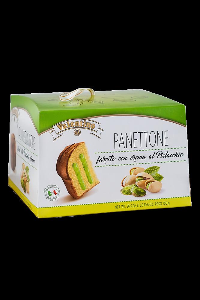 Panettone mit Pistaziencreme