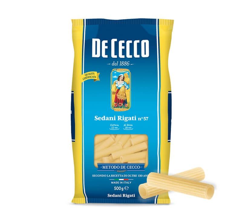 De Cecco Sedani Rigati Nr. 57 Verpackung