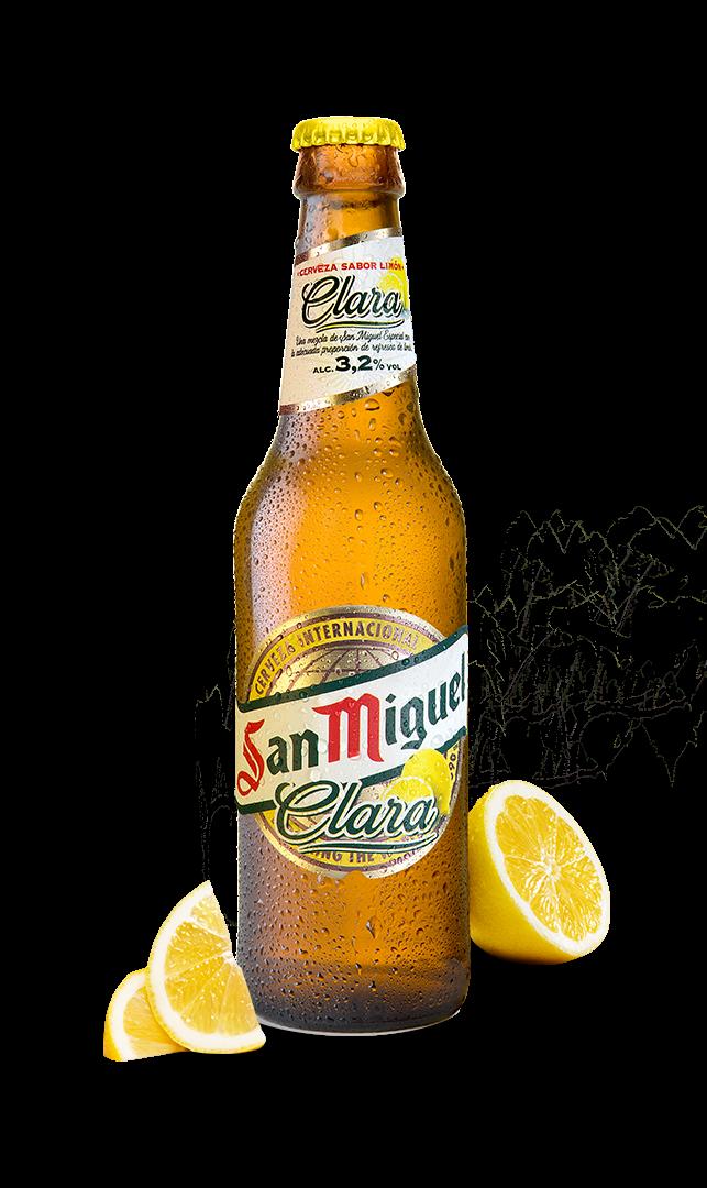 """San Miguel """"Clara"""" (mit Zitronenlimonade) 0,33l"""