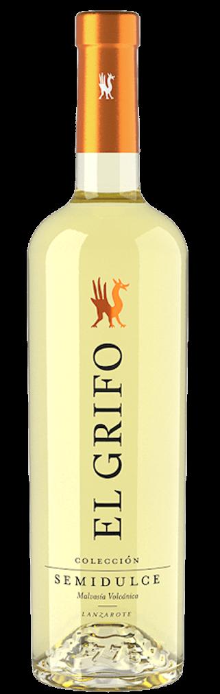 El Grifo Blanco Malvasía Semidulce Colección Flasche