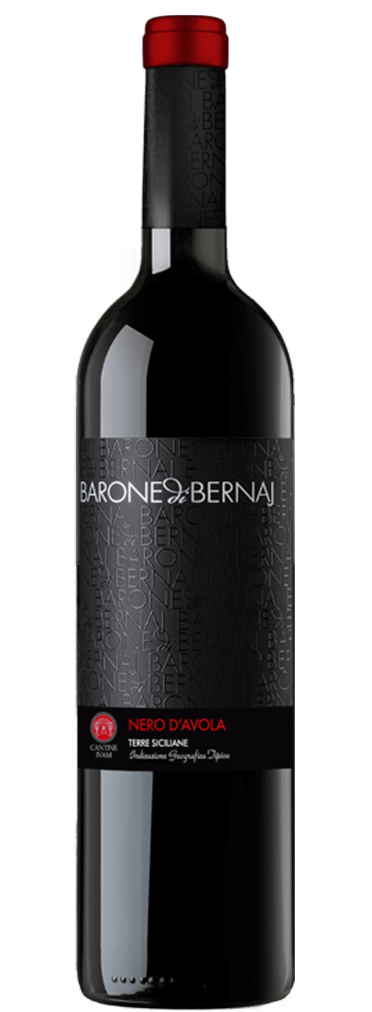 Barone di Bernaj Nero D'Avola Flasche