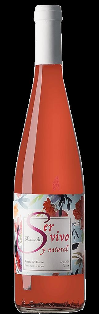 Ser Vivo y Natural Rosado Naturwein Flasche