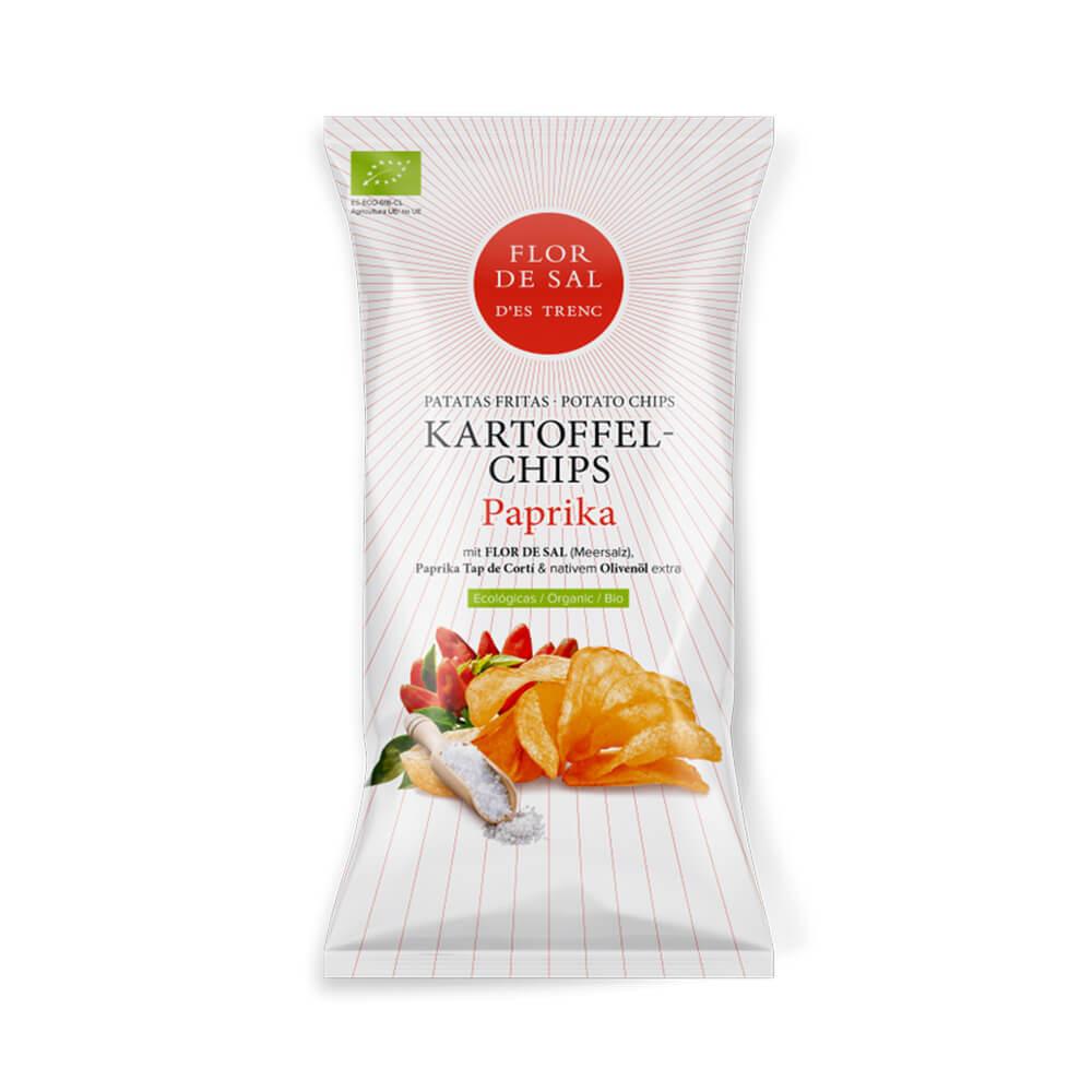 Kartoffelchips Paprika BIO