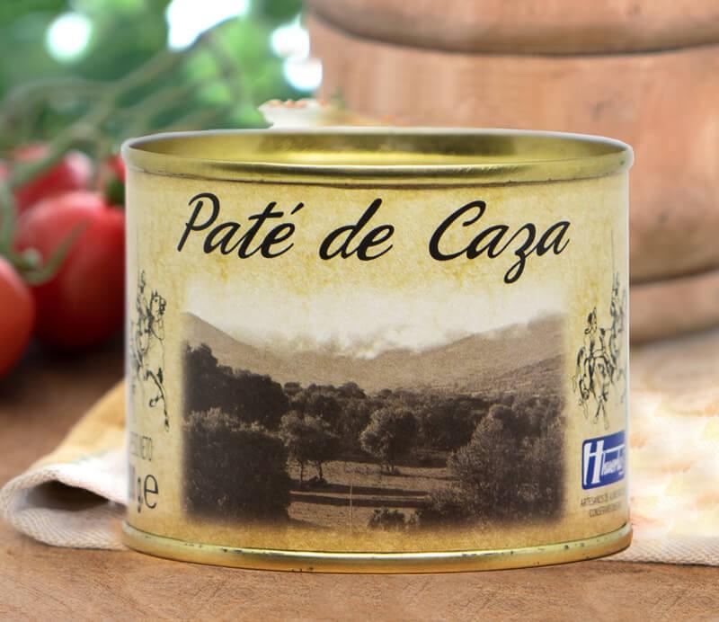 Jagdpastete Paté de Caza