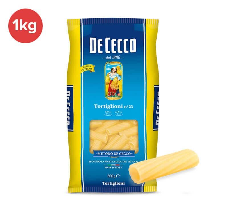 De Cecco - Tortiglioni 1 kg
