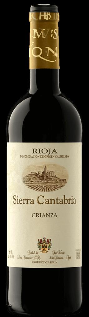 Sierra Cantabria Crianza 2014 Flasche