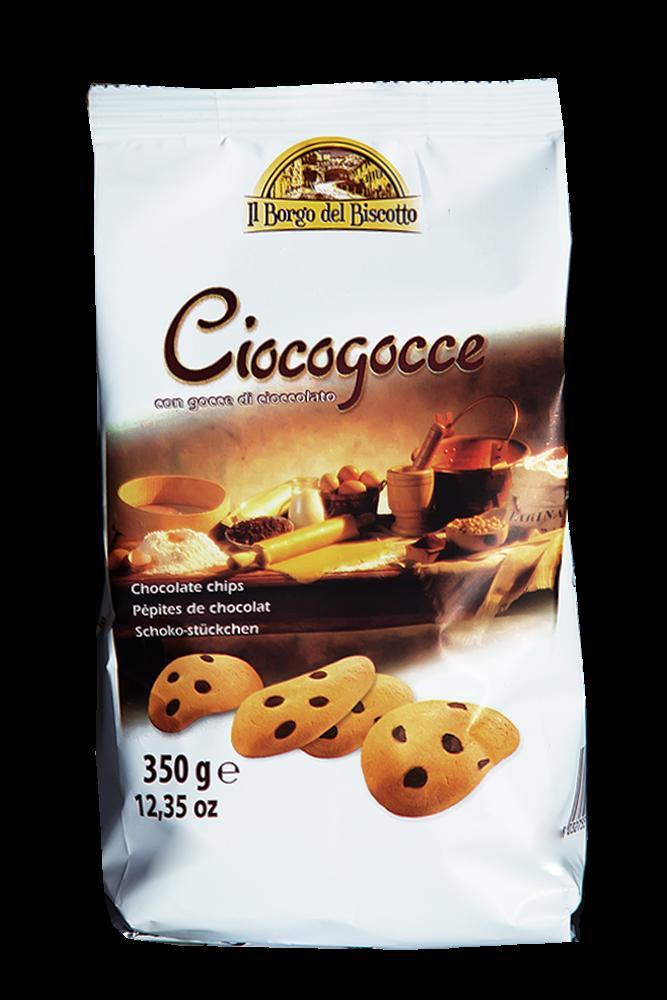 Il Borgo del Biscotto - Kekse mit Schoko Tropfen