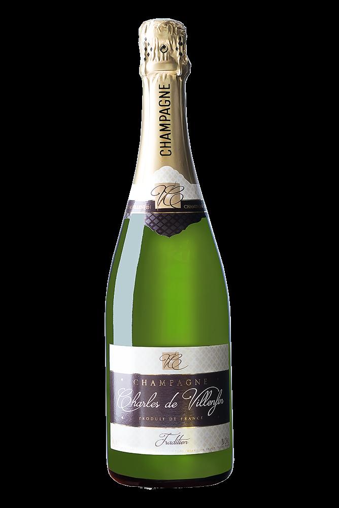 Champagner Charles de Villenfin Brut Tradition 0,75