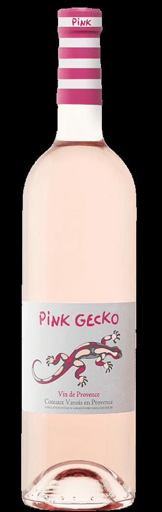 Pink Gecko Rosé Flasche