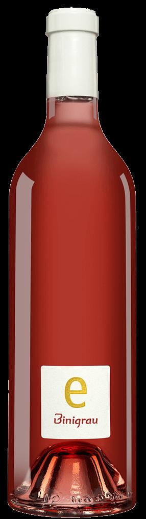 Binigrau e Eco Rosat Flasche
