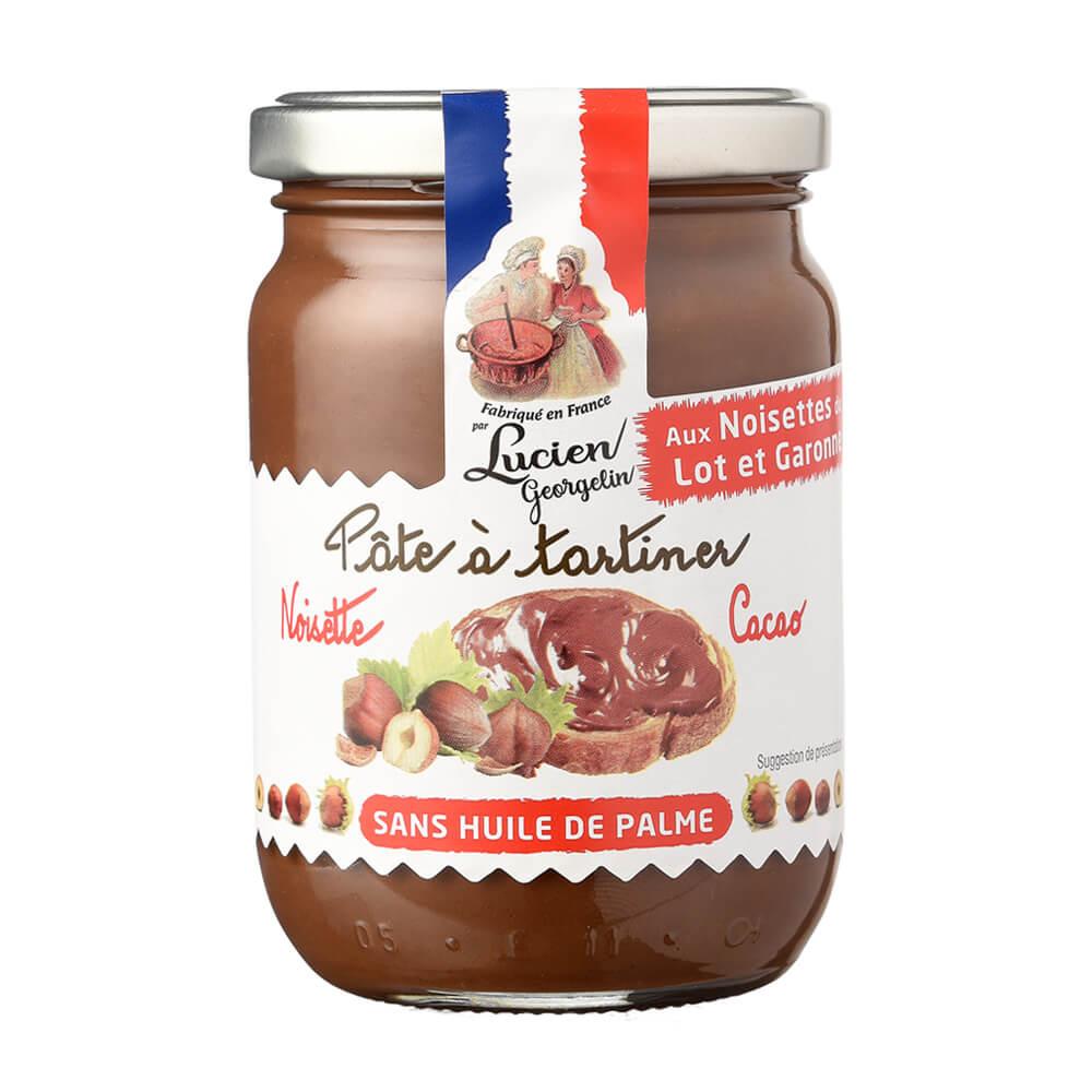 Haselnuss-Kakao Brotaufstrich
