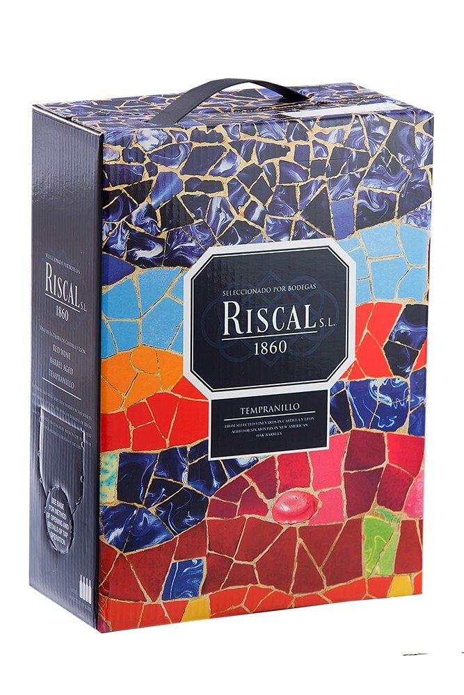 Riscal 1860 rot Bag in Box 3 Liter