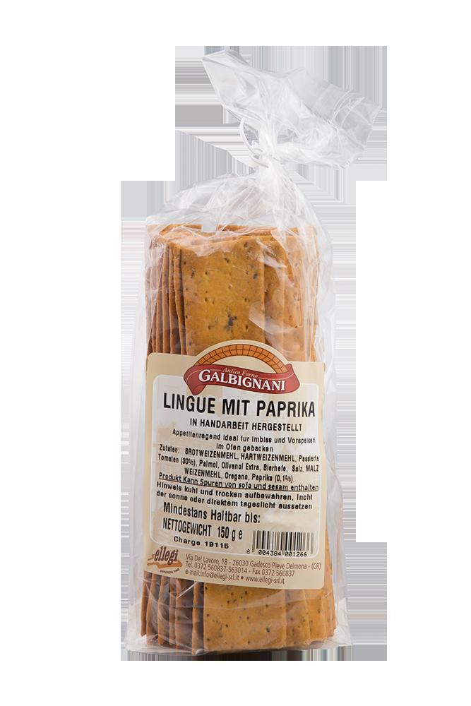 Lingue mit Paprika