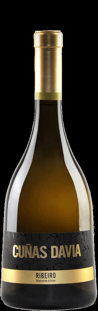 Cuñas Davia weiß Barrica 0,75 l  Flasche
