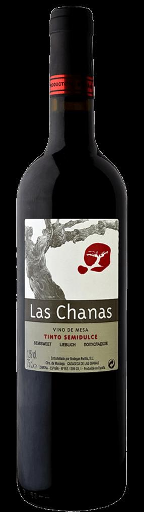 Las Chanas Tinto Semi Dulce Flasche