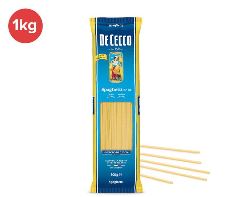 Spaghetti Nr. 12 - Kilopackung