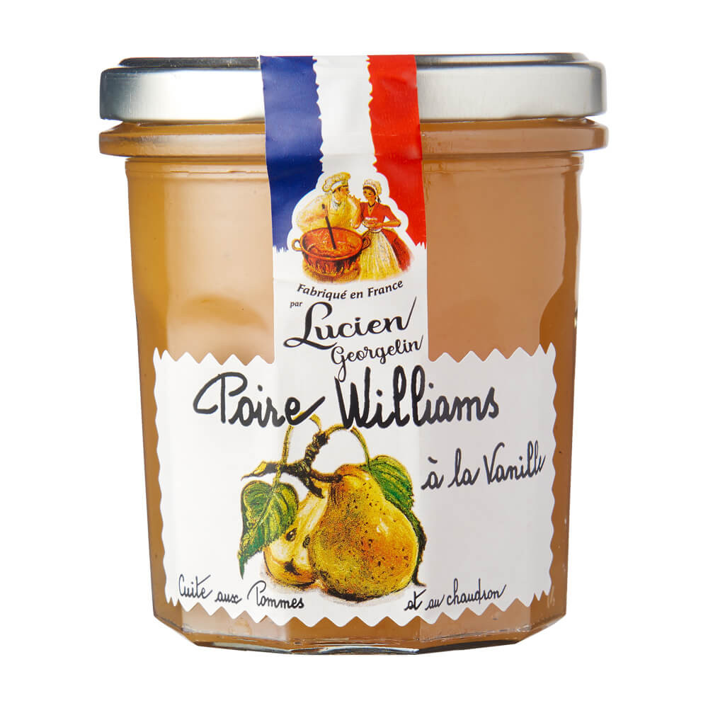 Williams Birne Konfitüre mit Vanille