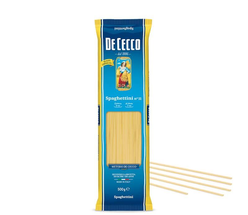 De Cecco Spaghettini Nr. 11 - 1kg Verpackung