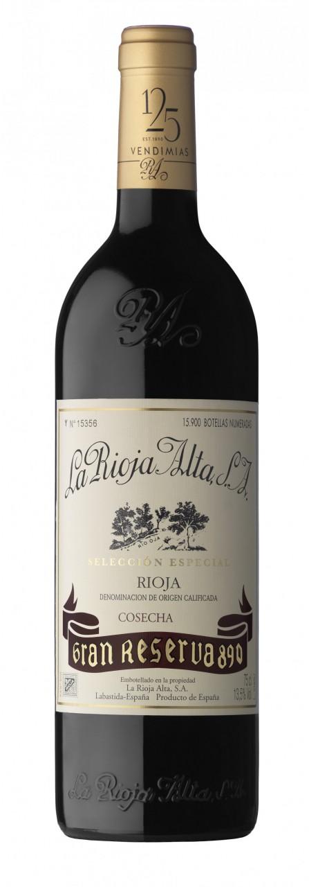 Rioja Alta 890 Gran Reserva Tinto 0,75l