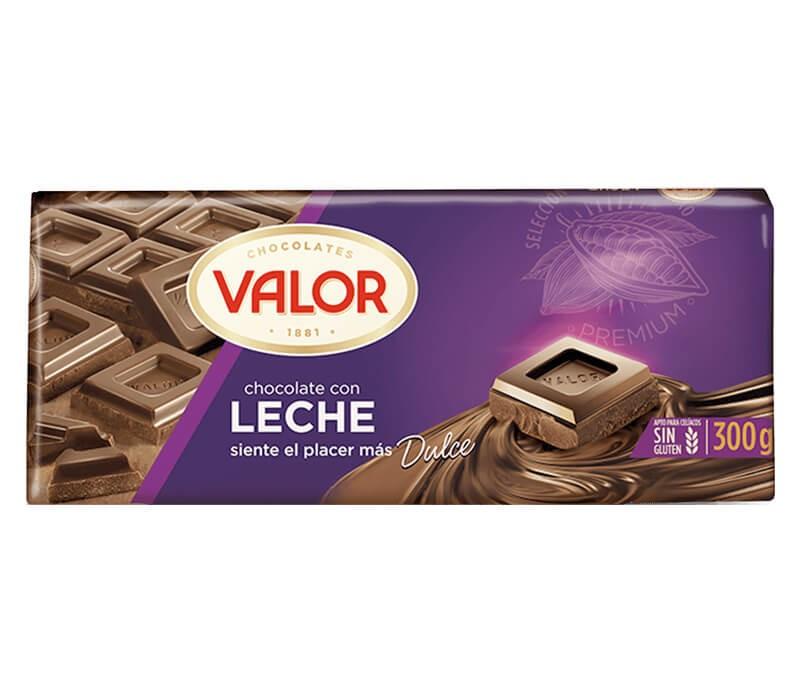 Valor Milchschokolade Verpackung
