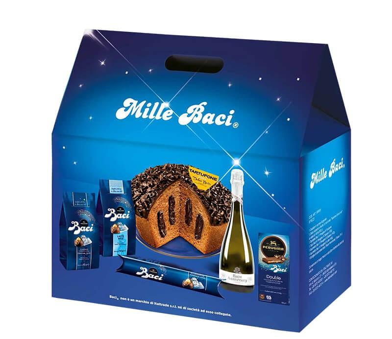 Italienische Geschenkbox Mille Baci Italienische Süßigkeiten