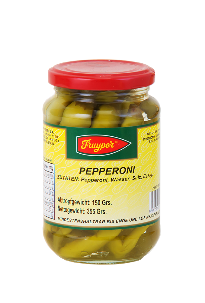 Scharfe Peperoni