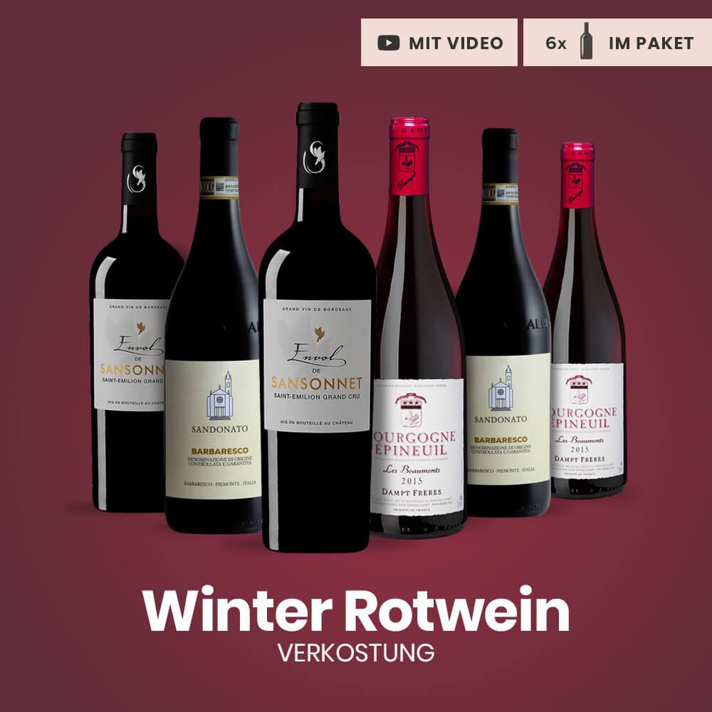 Winter Rotwein Verkostungspaket