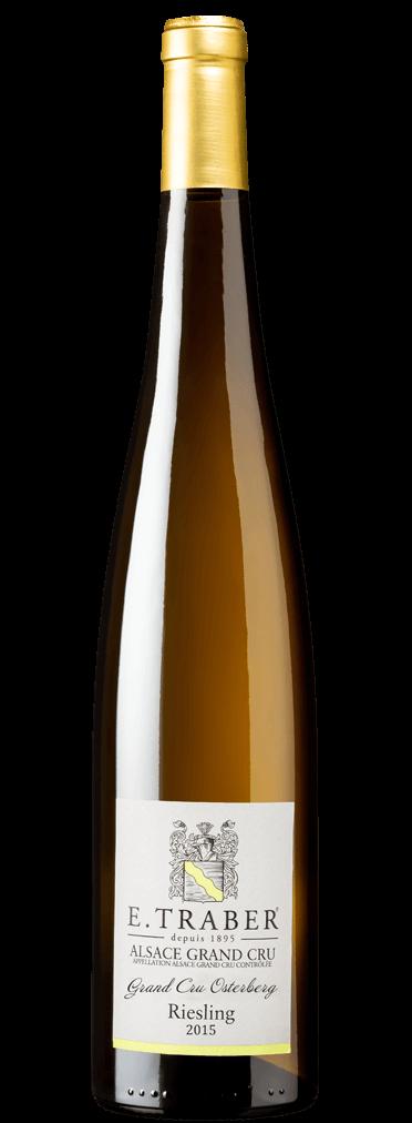 E. Traber Grand Cru Osterberg Riesling Flasche