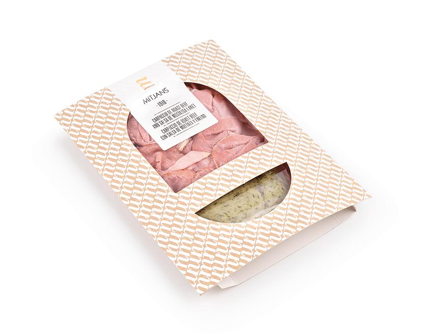 Mitjans Roast Beef Carpacio mit Senfsauce