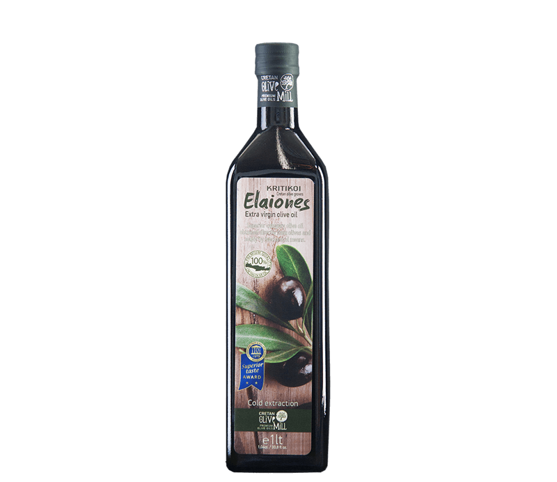 Kritikoi Elaiones Olivenöl aus Kreta 1 Liter