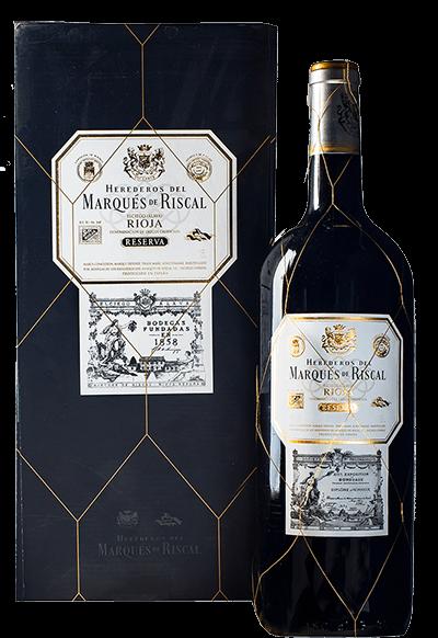 Geschenkverpackung Marqués de Riscal Reserva Magnum