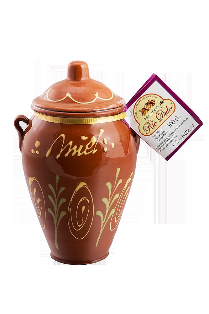 Honig im Keramiktopf