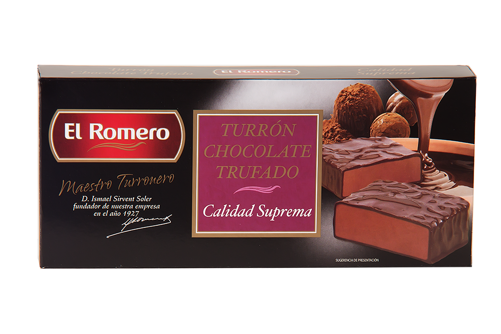 Turron Chocolate Trufado