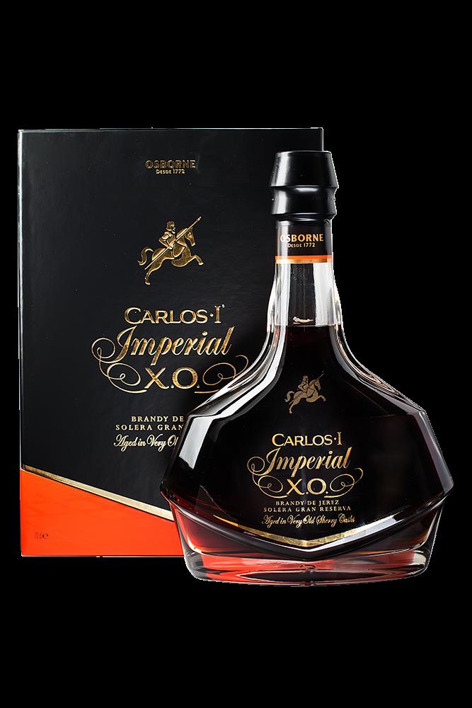Brandy Carlos I Imperial Solera Gran Reserva