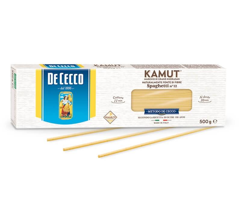 De Cecco Spaghetti Nr. 12 aus Kamut BIO