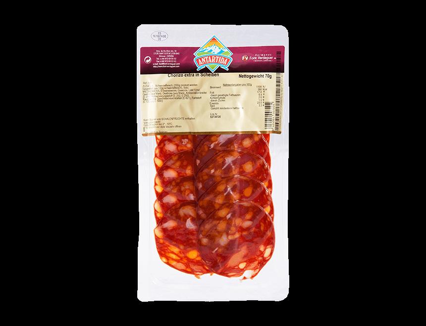 Chorizo in Scheiben