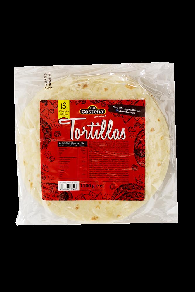 Tortilla frisch 25 cm