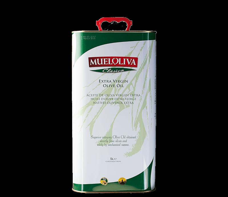 Mueloliva Olivenöl Extra Virgen 5 Liter Kanister