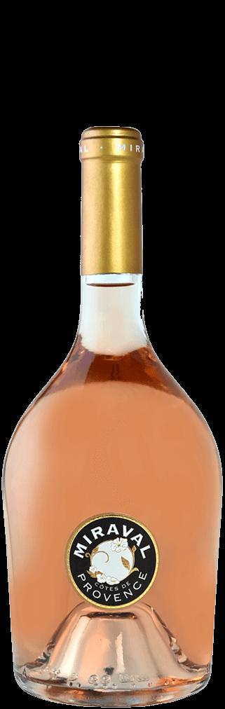 Jolie-Pitt & Perrin Miraval Rosé Cotes de Provence Flasche