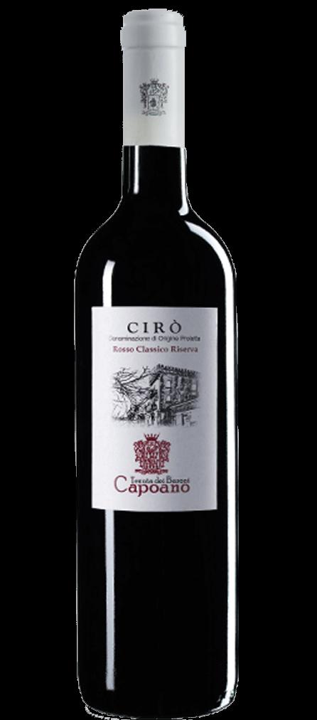 Tenuta dei Baroni Capoano Ciró Rosso Classico Flasche