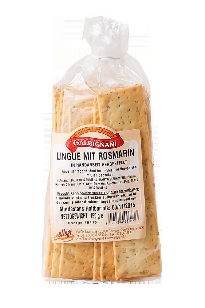Lingue mit Rosmarin